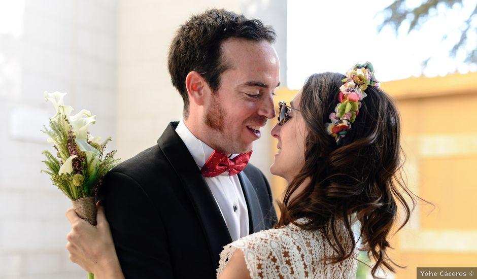 La boda de Santi y Marina en Madrid, Madrid