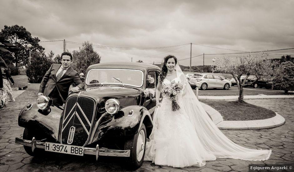 La boda de Alain y Ainhoa en Algorta, Vizcaya