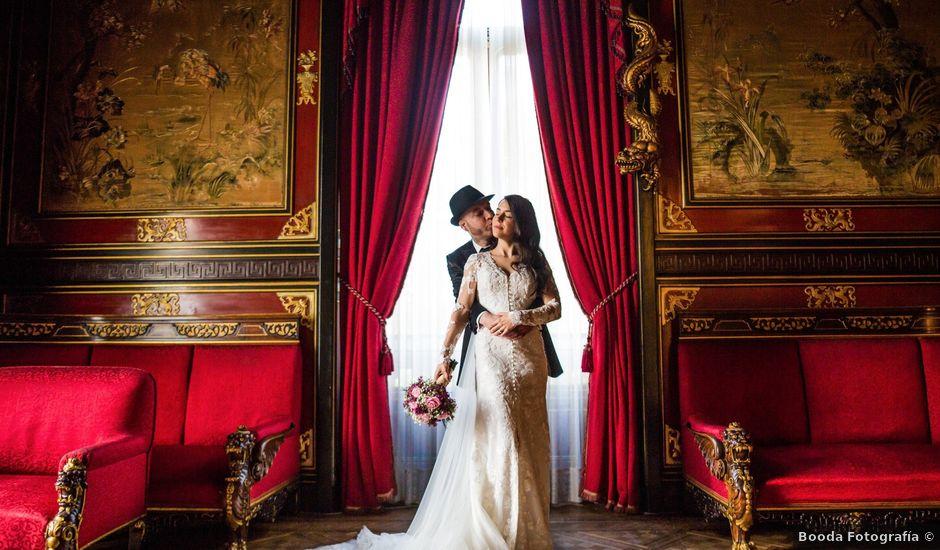 La boda de Carlos y Patricia en Madrid, Madrid