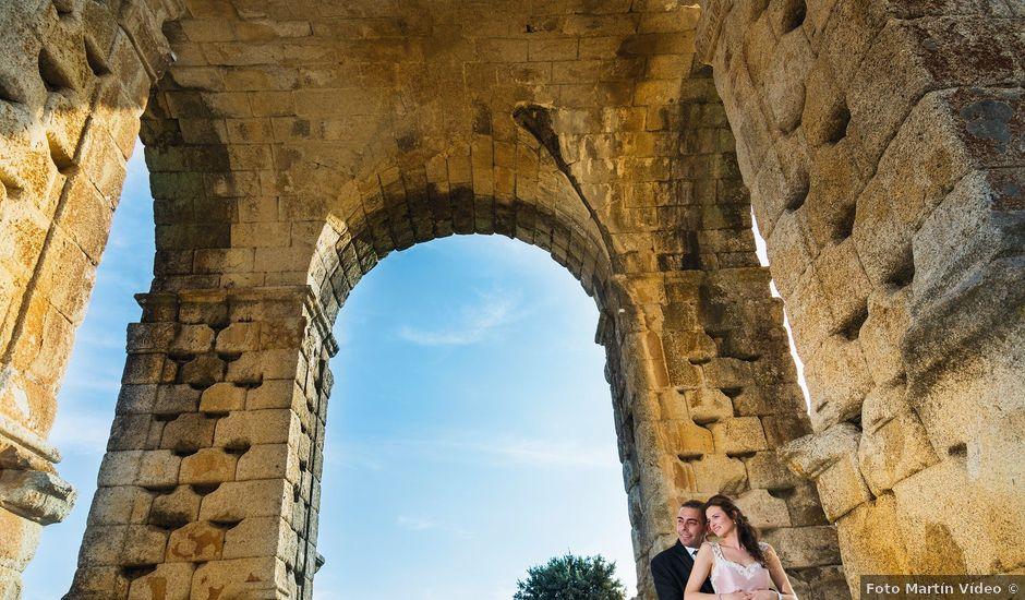 La boda de Javi y Eva en El Batan, Cáceres