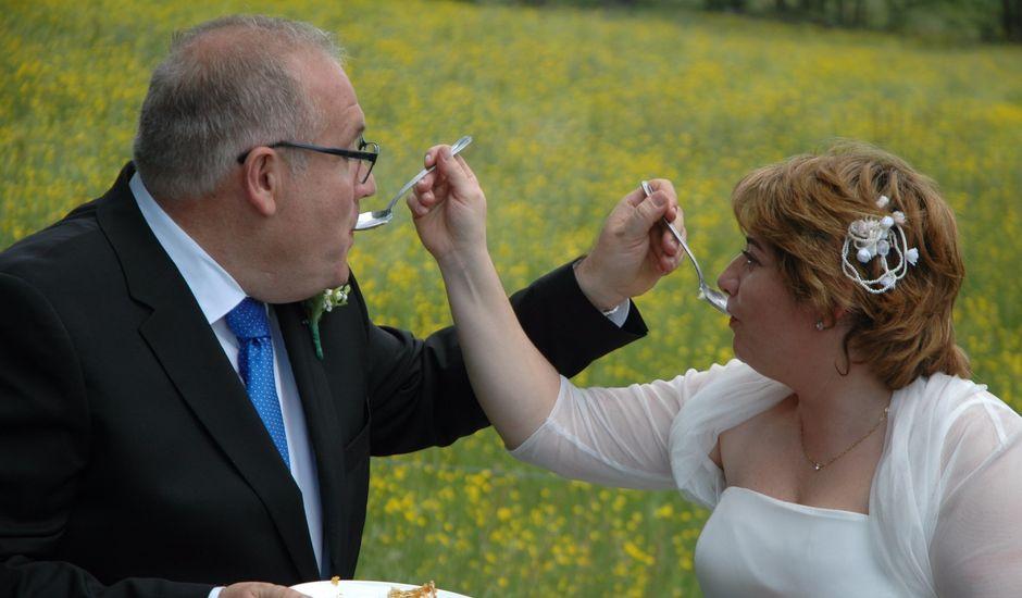 La boda de Angel y Nelida en Bor, Lleida