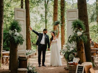 La boda de Carmeta y Suri