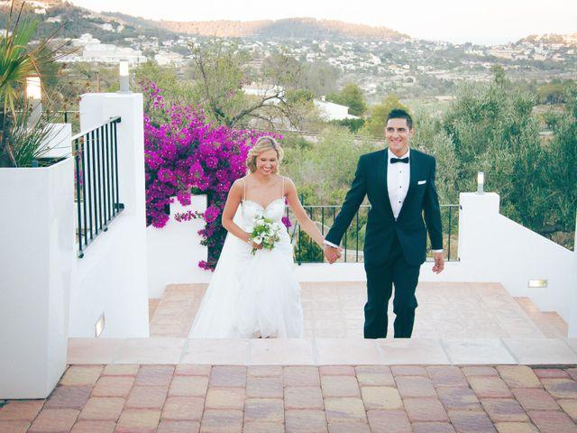 La boda de Oscar y Sandra en Calp/calpe, Alicante 43