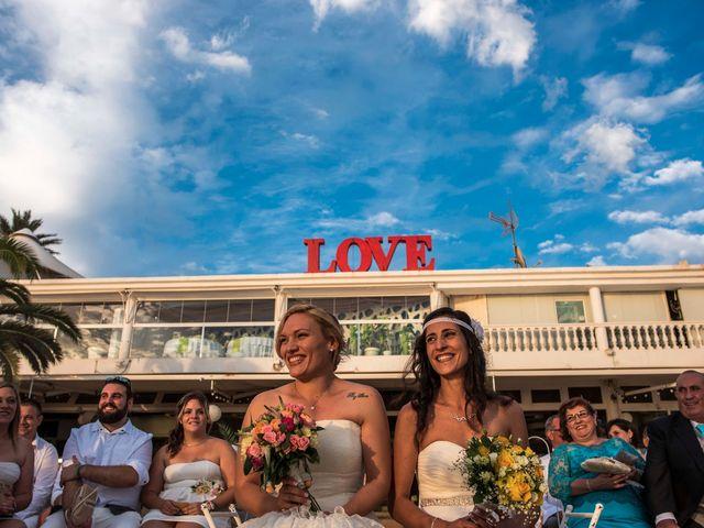 La boda de Iliana  y Maria en La Manga Del Mar Menor, Murcia 3