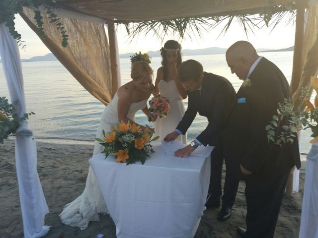 La boda de Iliana  y Maria en La Manga Del Mar Menor, Murcia 5