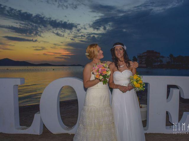 La boda de Iliana  y Maria en La Manga Del Mar Menor, Murcia 6