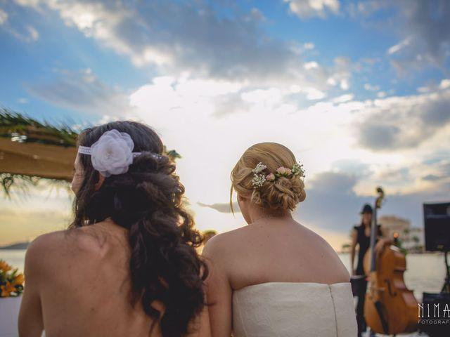 La boda de Iliana  y Maria en La Manga Del Mar Menor, Murcia 9