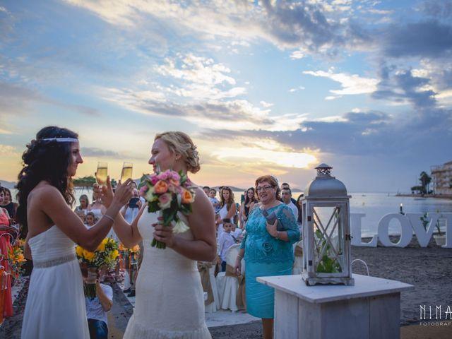 La boda de Iliana  y Maria en La Manga Del Mar Menor, Murcia 13