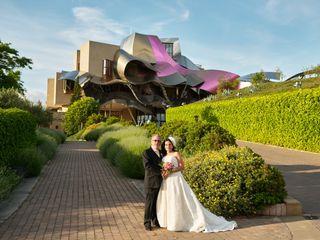 La boda de Trinidad y Angel