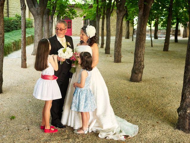 La boda de Angel y Trinidad en Elciego, Álava 17