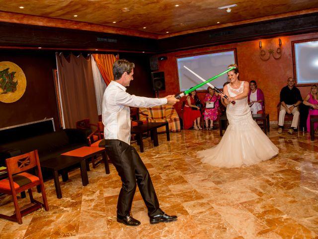 La boda de Sergio y Arancha en El Molar, Madrid 23