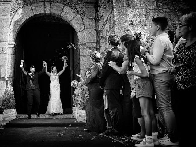 La boda de Isidro y Melissa en Cabezuela Del Valle, Cáceres 77