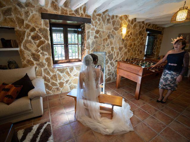 La boda de Carlos y Marta en Huetor Tajar, Granada 2