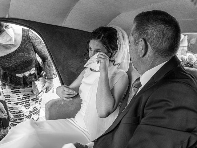 La boda de Carlos y Marta en Huetor Tajar, Granada 5