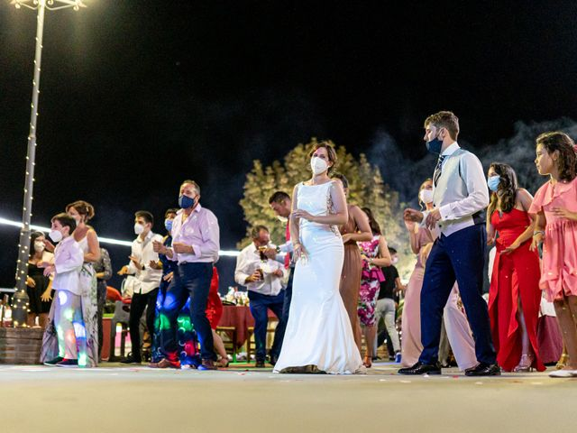La boda de Carlos y Marta en Huetor Tajar, Granada 8