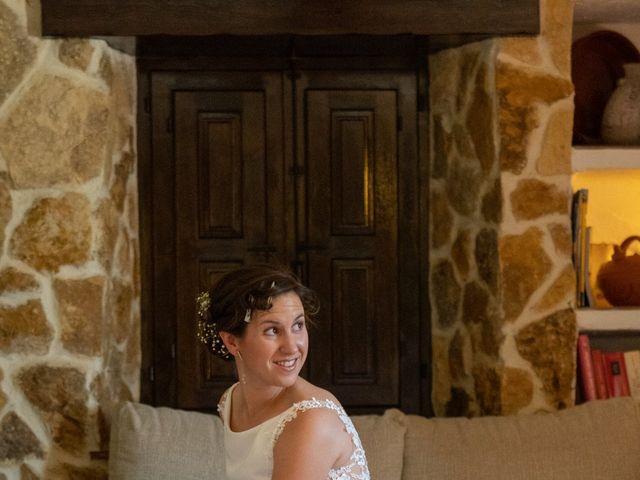 La boda de Carlos y Marta en Huetor Tajar, Granada 13
