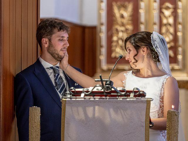 La boda de Carlos y Marta en Huetor Tajar, Granada 15