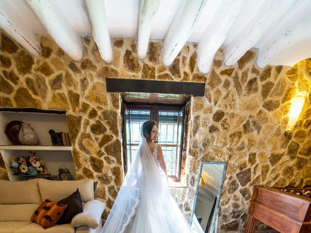 La boda de Carlos y Marta en Huetor Tajar, Granada 18