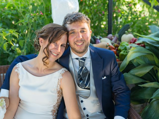 La boda de Carlos y Marta en Huetor Tajar, Granada 20