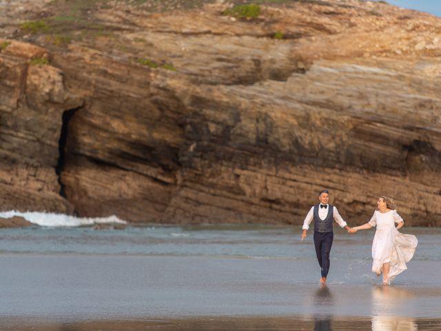 La boda de Carlos y Emma en Viveiro (Casco Urbano), Lugo 62