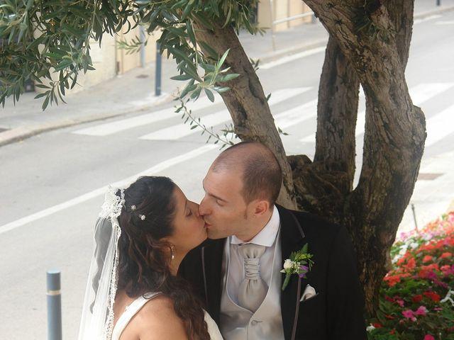 La boda de Sergio  y Verónica  en Mataró, Barcelona 16