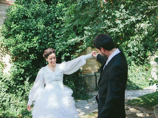 La boda de Marta y Conrad