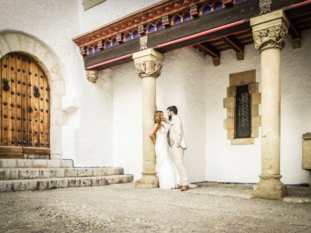 La boda de Xavi y Marina en Platja D'aro, Girona 10
