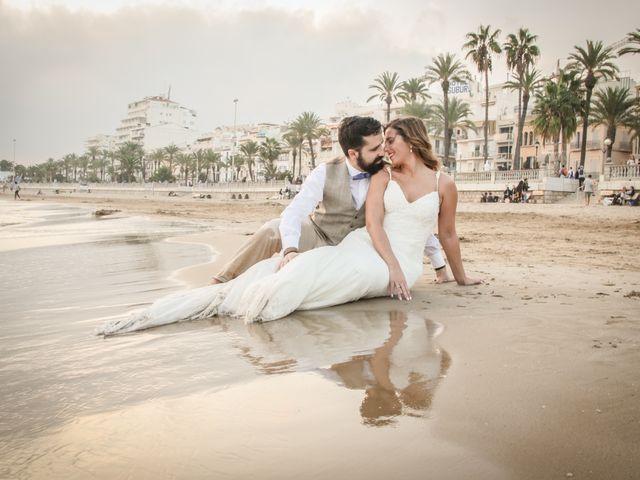 La boda de Xavi y Marina en Platja D'aro, Girona 22