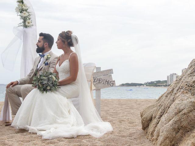 La boda de Xavi y Marina en Platja D'aro, Girona 39