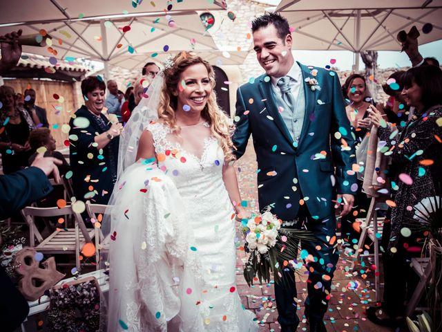 La boda de Albert y Eva en La Riera De Gaia, Tarragona 88