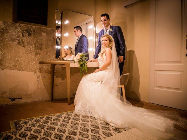 La boda de Albert y Eva en La Riera De Gaia, Tarragona 97