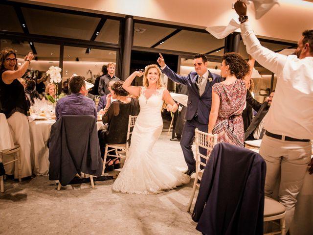 La boda de Albert y Eva en La Riera De Gaia, Tarragona 130