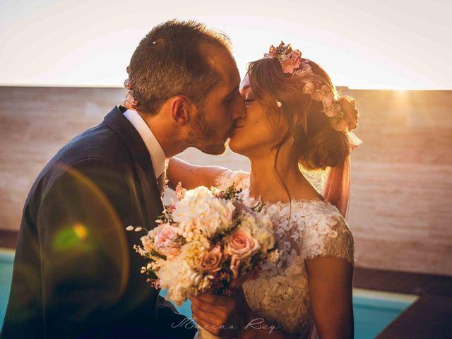La boda de Aroha y Kike