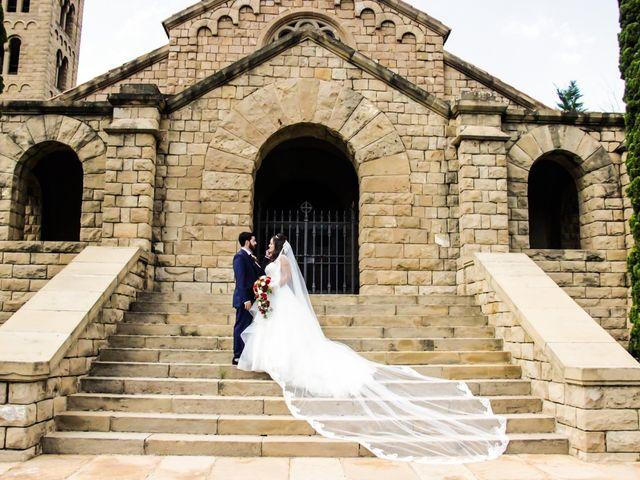 La boda de Cristian y Aurora en Monistrol De Montserrat, Barcelona 28