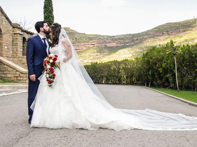 La boda de Cristian y Aurora en Monistrol De Montserrat, Barcelona 32