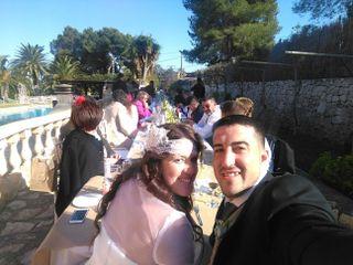 La boda de Mélani   y Sergio
