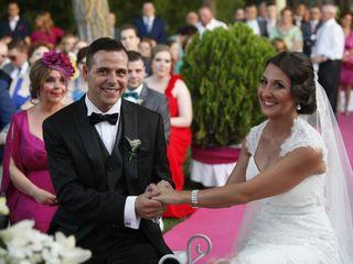 La boda de Lourdes y Christian