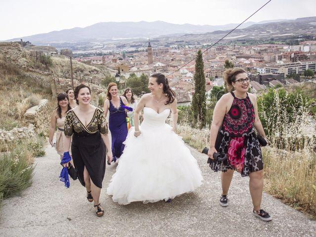 La boda de Alberto y María en Calatayud, Zaragoza 8