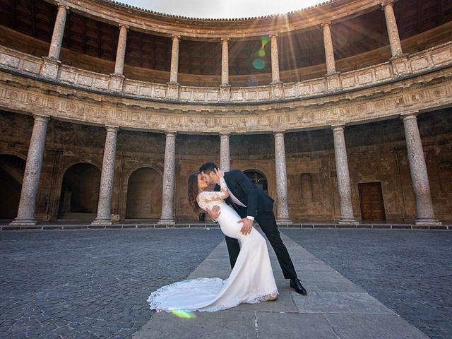 La boda de Jose y Rocio en Granada, Granada 17