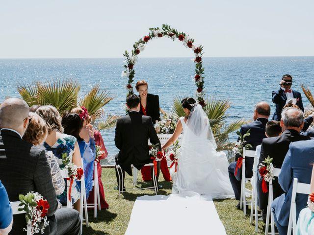 La boda de Juan Carlos y Cristina en Benalmadena Costa, Málaga 25