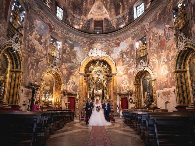 La boda de Patricia  y Fidel Luis  en Talamanca Del Jarama, Madrid 38