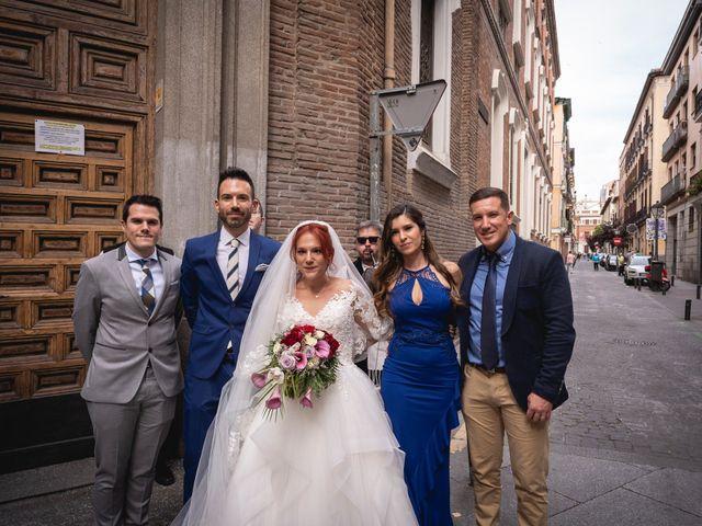La boda de Patricia  y Fidel Luis  en Talamanca Del Jarama, Madrid 45