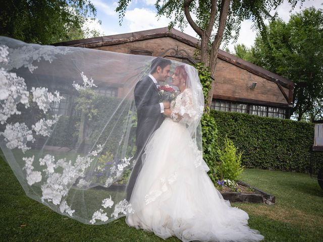 La boda de Patricia  y Fidel Luis  en Talamanca Del Jarama, Madrid 56