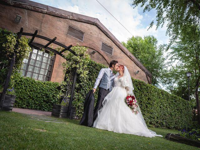 La boda de Patricia  y Fidel Luis  en Talamanca Del Jarama, Madrid 57