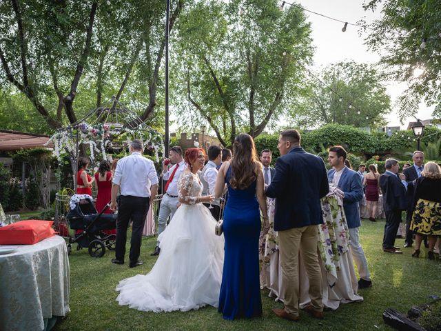 La boda de Patricia  y Fidel Luis  en Talamanca Del Jarama, Madrid 63