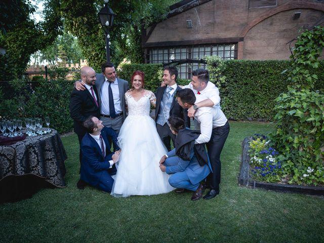 La boda de Patricia  y Fidel Luis  en Talamanca Del Jarama, Madrid 68