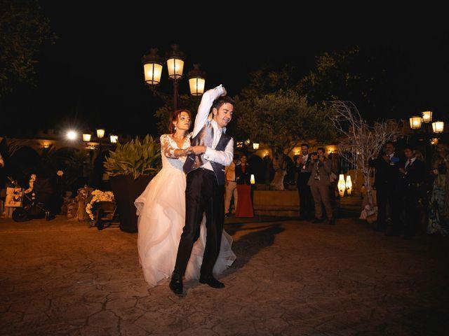 La boda de Patricia  y Fidel Luis  en Talamanca Del Jarama, Madrid 77