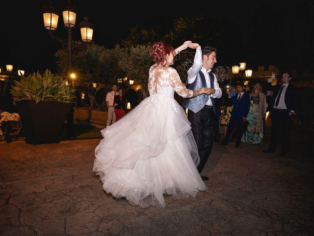 La boda de Patricia  y Fidel Luis  en Talamanca Del Jarama, Madrid 84
