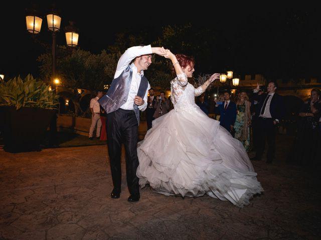 La boda de Patricia  y Fidel Luis  en Talamanca Del Jarama, Madrid 85