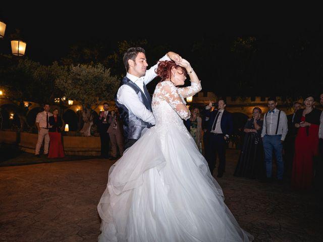 La boda de Patricia  y Fidel Luis  en Talamanca Del Jarama, Madrid 87